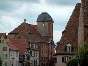 Wissembourg - Salt house (Maison du Sel), a residence and the town hall
