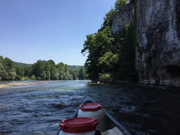 Adventure sightseeing on a river with a nature guide