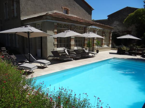 Bed breakfast l 39 orangerie carcassonne chambre d 39 h tes for Chambre d hotes carcassonne