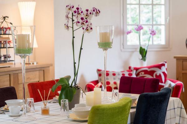 Bed breakfast les orchid es saumur chambre d 39 h tes for Chambres d hotes saumur