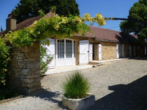 La Bergerie, piscine, Perigord, -6 pers. - Rental - Holidays & weekends in Saint-Laurent-la-Vallée