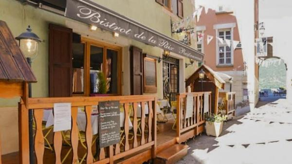 Le Bistrot de la Paix - Restaurant - Holidays & weekends in Briançon