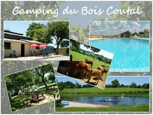 Camping du Bois Coutal - Camping - Vacances & week-end à Vigeois