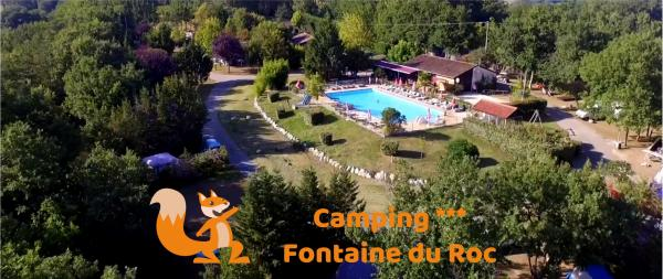 Camping Fontaine du Roc - Camping - Vacances & week-end à Dévillac