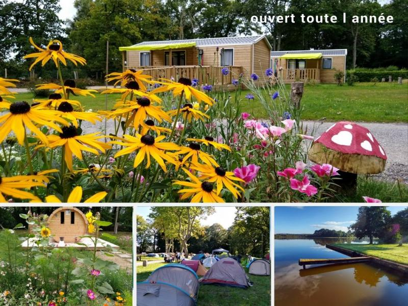 Camping le lac o fees - Camping - Vacances & week-end à Priziac