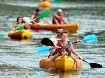 Kayak st guilhem le desert