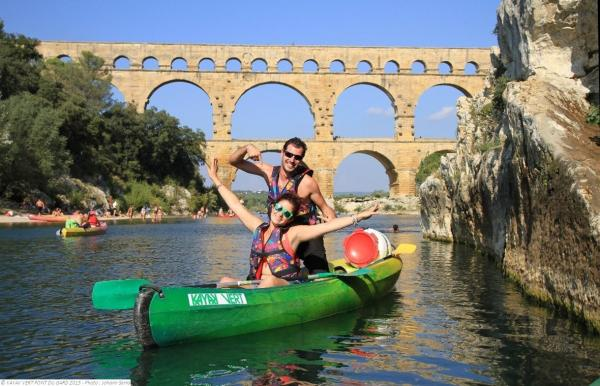 Canoeing in the Gardon Gorges - Activity - Holidays & weekends in Collias
