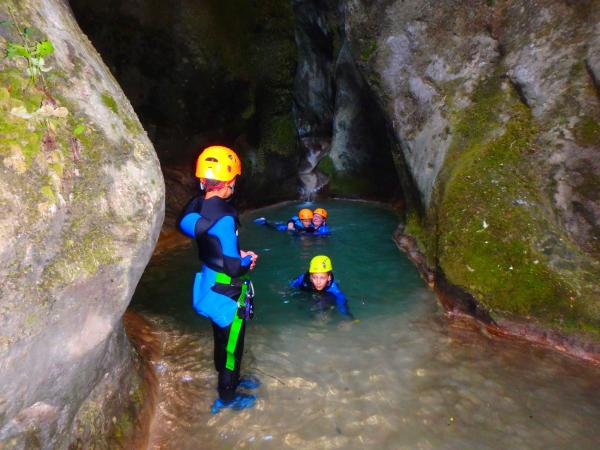 Canyoning in Vercors - Activity - Holidays & weekends in Beaumont-lès-Valence