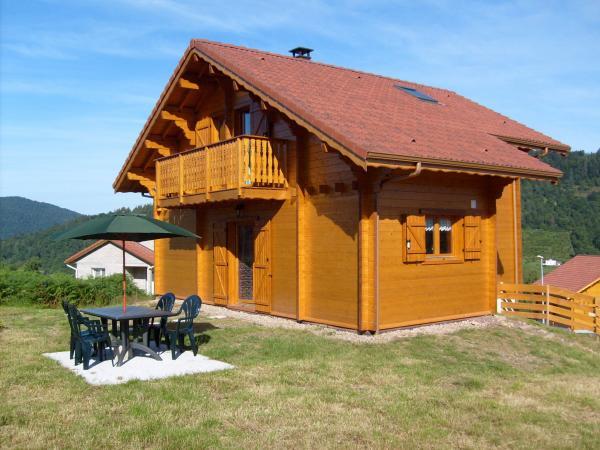 Chalet en bois massif dans les Hautes Vosges - Location de vacances ...