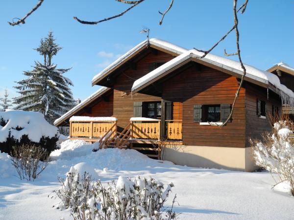 Chalet bois meubl de vacances location de vacances for Location meuble vacances