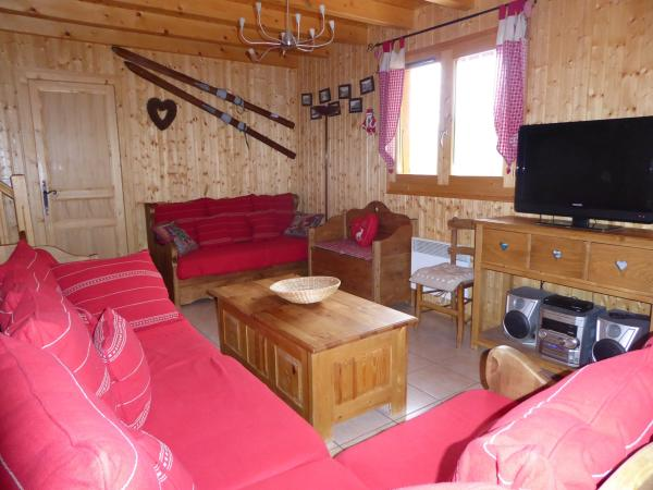 Le Chalet du Col Blanc, 5 chambres, Sauna - Rental - Holidays & weekends in Le Biot