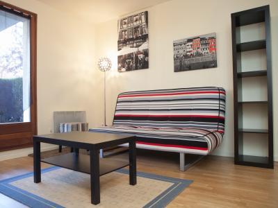 charmant 2 pieces 4 personnes parking gratuit location de vacances strasbourg. Black Bedroom Furniture Sets. Home Design Ideas