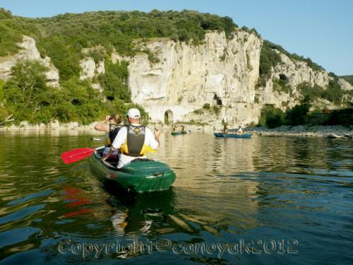 Discover the Ardèche Gorges by canoe - Activity - Holidays & weekends in Vallon-Pont-d'Arc