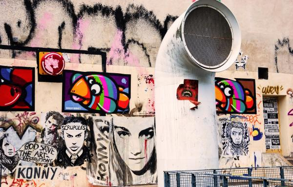 Discover Le Marais Street Art with a Polaroid Camera (in English) - Activity - Holidays & weekends in Paris