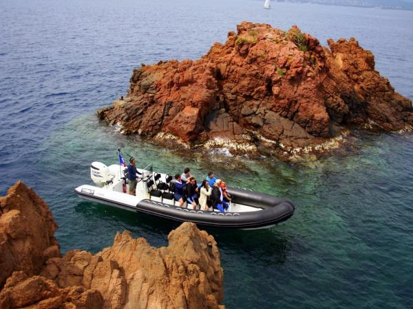 promenade bateau frejus
