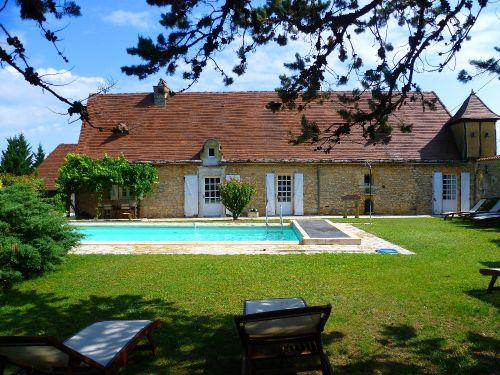La Ferme, piscine priv, Périgord, 8 pers. - Location - Vacances & week-end à Saint-Laurent-la-Vallée