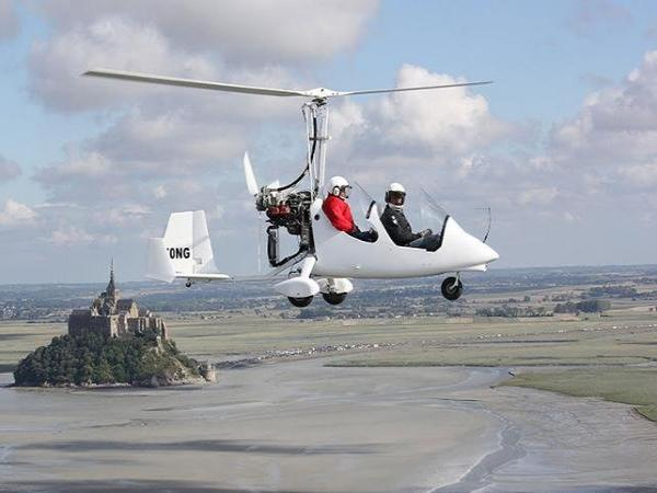 Flight over Mont Saint-Michel Bay by Ultralight Trike or Autogyro – 20 mins - Activity - Holidays & weekends in Le Val-Saint-Père