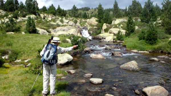 Fly fishing at the heart of the Catalan Pyrenees - Activity - Holidays & weekends in Bolquère