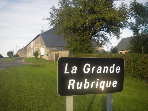 Gite rural La Grande Rubrique - Location - Vacances & week-end à Barbaise