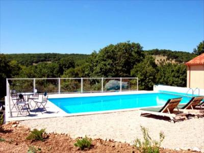 G te villa climatis e piscine chauff e location de for Piscine chauffee