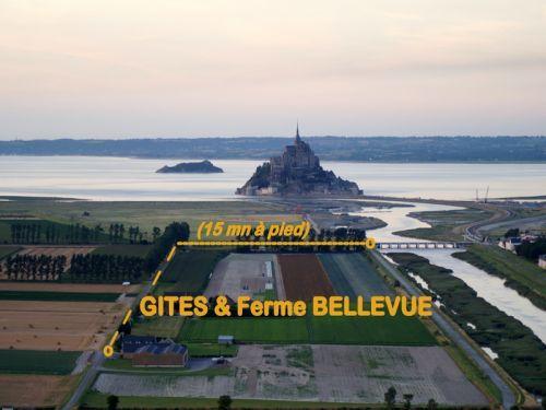 Le MontSaintMichel  Tourisme Vacances  WeekEnd