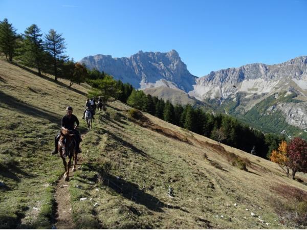 Horse ride or trek in the mountains - Activity - Holidays & weekends in La Roche-des-Arnauds