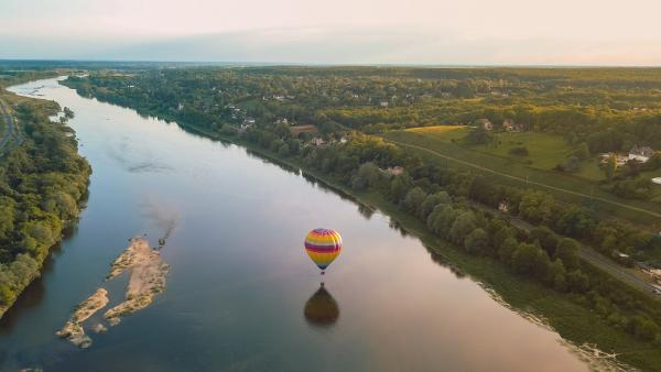 Hot air balloon flight in the Loire Valley - Activity - Holidays & weekends in Blois