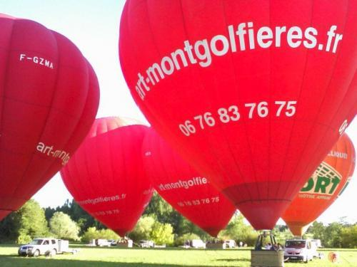 Hot air balloon flights in the Loire Valley - Activity - Holidays & weekends in Chenonceaux
