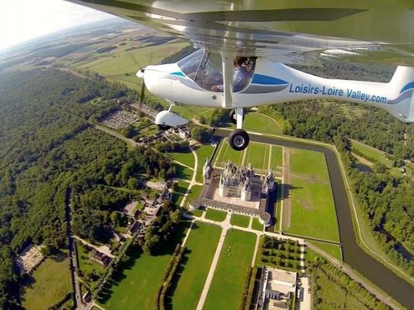 Introduction to Ultralight Aviation above the Chambord or the Chenonceau - Activity - Holidays & weekends in Chouzy-sur-Cisse