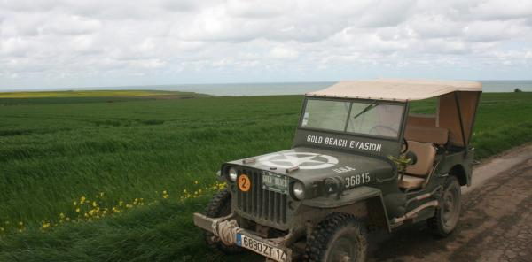 Jeep Ride along the D-Day Landing Beaches - Activity - Holidays & weekends in Asnelles