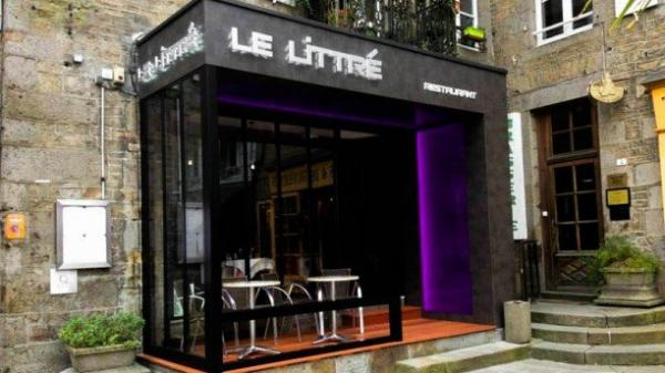 le littr restaurant avranches. Black Bedroom Furniture Sets. Home Design Ideas