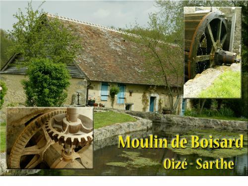 Moulin de boisard - Bed & breakfast - Holidays & weekends in Oizé