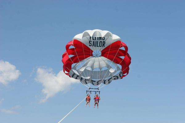 Parasailing on the Gulf of Saint-Tropez - Activity - Holidays & weekends in Grimaud