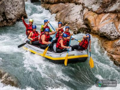 Castellane rafting