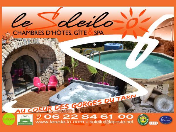 The Soleilo Pool Jacuzzi Aveyron   Bed U0026 Breakfast   Holidays U0026 Weekends In  Mostuéjouls