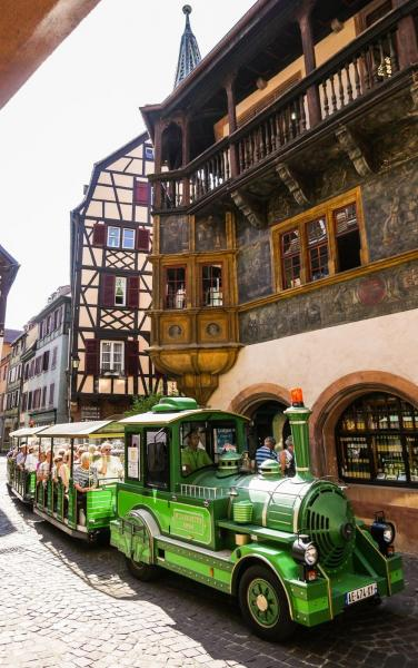 Tour of Colmar in the little tourist train - Activity - Holidays & weekends in Colmar