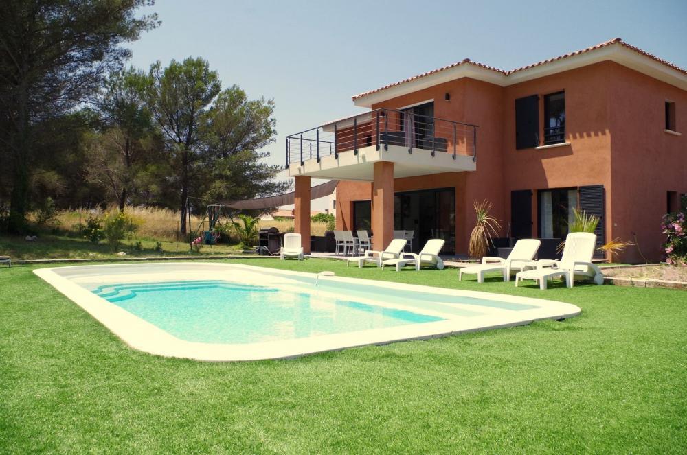 Photos villa cap dramont bord de mer piscine location - Villa bord de mer ...