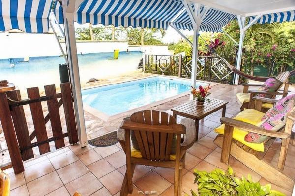 Villas f3 avec piscine priv e et jardin location de - Locations vacances avec piscine privee ...