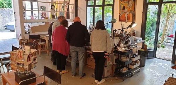 Visit an artists' studio with exhibits for sale - Activity - Holidays & weekends in Montréal
