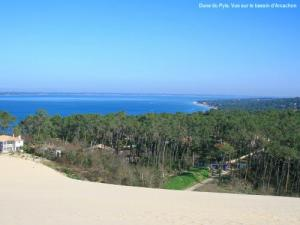The basin seen from the dune of Pyla (© Jean Espirat)