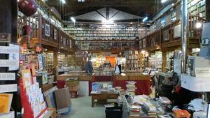 Great bookstore Somail, Canal du Midi