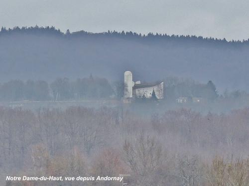 Notre-Dame-du-Haut view from Andornay (© Jean Espirat)