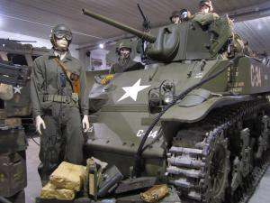 It! Normandy Tank Museum has a wonderful collection of armor and American WWII vehicles