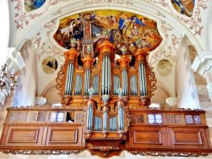 Grand orgue Silbermann (© Jean Espirat)