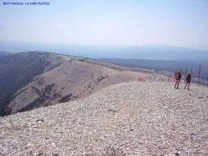 Ridge South Oost- Ventoux (© Jean Espirat)